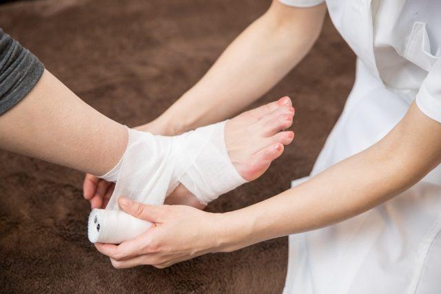 L.A.整骨院 前橋・高崎院で行う足首の捻挫の施術
